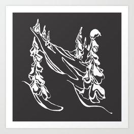 Ghost Trees : I Art Print