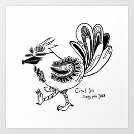Circuit Bird Art Print