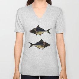 Fishmouse Unisex V-Neck