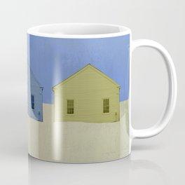 Beach Cottages, colorful houses, coastal, row houses Coffee Mug