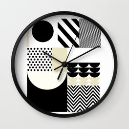 Happiness recreation Wall Clock