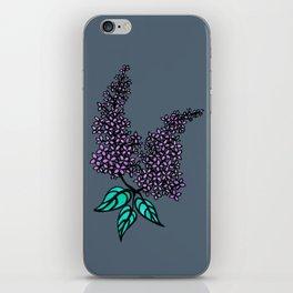 Lilac Grey iPhone Skin