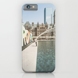 Canada Photography - Toronto Fountain iPhone Case