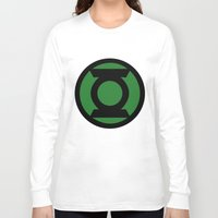 green lantern Long Sleeve T-shirts featuring Green Lantern by Sport_Designs
