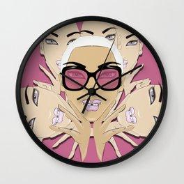GirlZ Pink Wall Clock