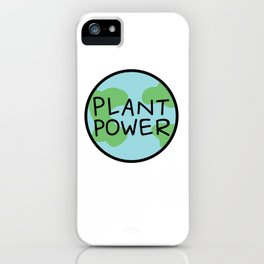 Plant Power iPhone Case