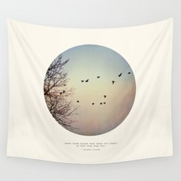 Caged Birds Wall Tapestry