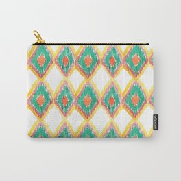 The Chevron Flame - aztec watercolour pattern Carry-All Pouch