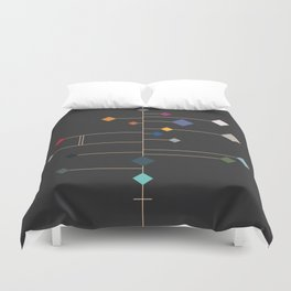 winter equinox Duvet Cover