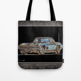 1967 Stingray Tote Bag