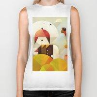 birdman Biker Tanks featuring Birdman by Squizzato