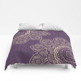 Lavender Tulips Comforters