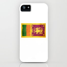 Sri Lanka Flag design | Sri Lankan design iPhone Case