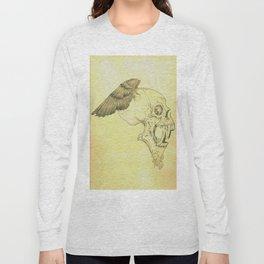 Winged Skull Long Sleeve T-shirt
