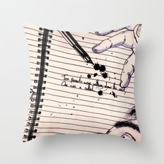 The Deadliest Joke Throw Pillow