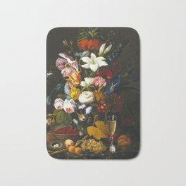 Severin Roesen - Victorian Bouquet Bath Mat