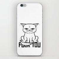 grumpy iPhone & iPod Skins featuring Grumpy Grumpy by Navass