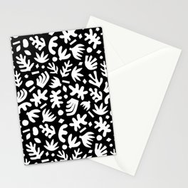 Matisse Paper Cuts // White on Black Stationery Cards