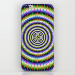 Optically Challenging Rings iPhone Skin