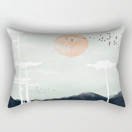 all the way back to the nest Rectangular Pillow