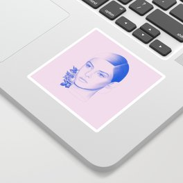 Troubled Sticker