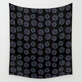 D20 Offset Crits Wall Tapestry