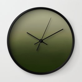 Touch Ground Wall Clock