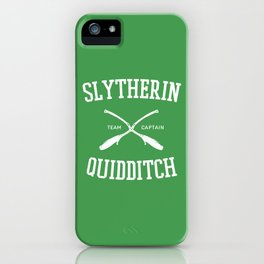 Hogwarts Quidditch Team: Slytherin iPhone Case