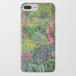 Claude Monet - The Iris Garden At Giverny iPhone Case