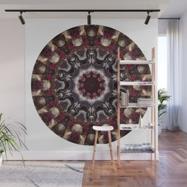 Beauty And The Beet -- A Kaleidoscope Of Beets Wall Mural