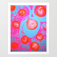 C@ndy Flip Art Print
