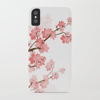 cherry iPhone & iPod Cases featuring Cherry by Ale Ibanez