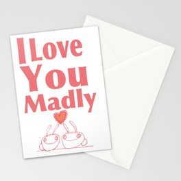 Love You Madly Stationery Cards