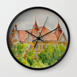 Texas State (SWT) University Old Main Building, San Marcos, TX Wall Clock