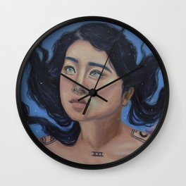 """""""Clairvoyant"""" Wall Clock"""
