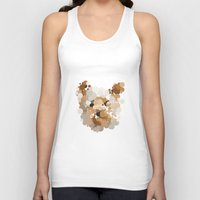 terrier Tank Tops featuring Terrier  by Glen Gould