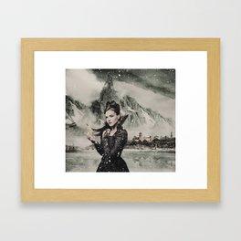 Frozen Theme 2 Framed Art Print