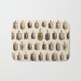 Vintage Turtles Pattern Bath Mat