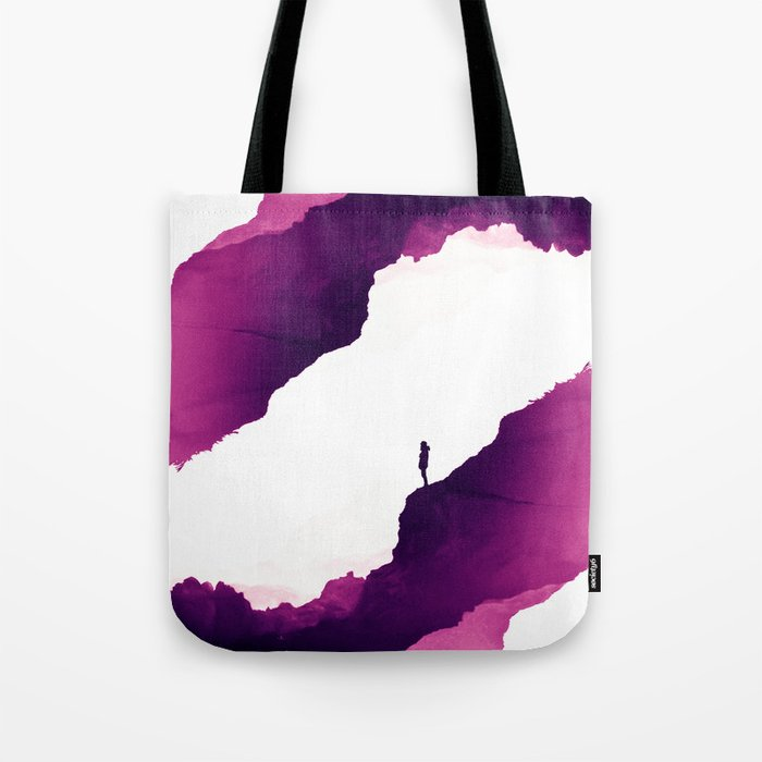 Purple Isolation Tote Bag