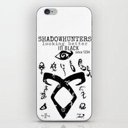 ShadownhuntersRune with Runes iPhone Skin