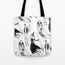 Happy Monsters (in white) Tote Bag