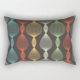 Geo Bulbs Rectangular Pillow