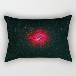 Red Galaxy (Color) Rectangular Pillow