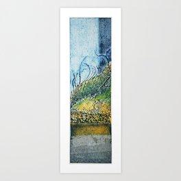 gravura colagraf landscape 01 Art Print