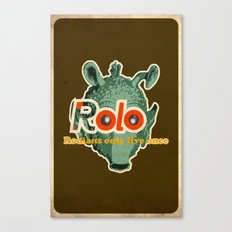 ROLO Canvas Print