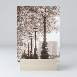 Leafy Promenade Mini Art Print
