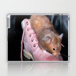 The Old Hamster in the Shoe Laptop & iPad Skin