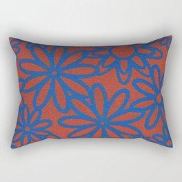 Flower Patch Rectangular Pillow