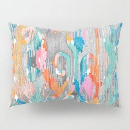 rainy day balinese ikat Pillow Sham