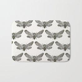 Summer Cicada – Black Palette Bath Mat